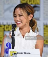 SDCC Comic Con 2017 - Jamie Chung at panel