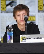 SDCC Comic Con 2017 - Percy Hynes White at panel