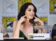 SDCC Comic Con 2017 - Emma Dumont at panel