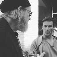 BTS 1x05 Boxed In Jeremiah Chechik and Stephen Moyer