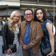 LA Screenings Gala 2017 Natalie Alyn Lind, Emma Dumont and Leo Katigbak