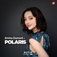 LA Screenings Gala 2017 Emma Dumont Poster