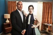 TCA 2017 Photosession Coby Bell and Emma Dumont