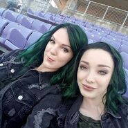 BTS 1x06 got your siX Emma Dumont and Briana stunt double