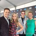 Upfronts 2017 Stephen Moyer, Amy Acker, Natalie Alyn Lind, and Percy Hynes White