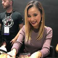 SDCC Comic Con 2017 - Jamie Chung poster signing