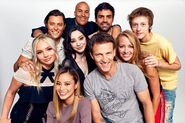 SDCC Comic Con 2017 Portrait - Stephen Moyer, Amy Acker, Natalie Alyn Lind, Percy Hynes White, Blair Redford, Jamie Chung, Sean Teale, Emma Dumont, Coby Bell