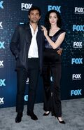 Upfronts 2017 Sean Teale and Emma Dumont