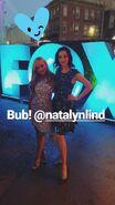 LA Screenings Gala 2017 Natalie Alyn Lind and Emma Dumont 'Bud!'