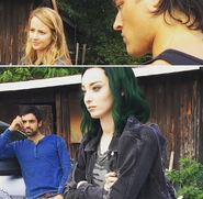 BTS 1x05 Boxed In Amy Acker, Blair Redford, Emma Dumont and Sean Teale