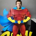 SDCC Comic Con 2017 - Percy Hynes White super hero