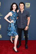 LA Screenings Gala 2017 Blair Redford and Emma Dumont