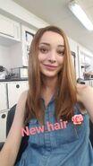 BTS Emma Dumont 'New Hair'