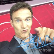 CTV Upfronts 2017 Stephen Moyer hangin out