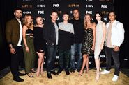 SDCC Comic Con 2017 - Stephen Moyer, Amy Acker, Natalie Alyn Lind, Percy Hynes White, Blair Redford, Jamie Chung, Sean Teale, Emma Dumont, Coby Bell (1)
