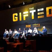 Fox Promotion Executive Conference 2017 Stephen Moyer, Blair Redfor, Emma Dumont, Jamie Chung, Coby Bell, Natalie Alyn Lind, and Matt Nix