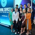 Upfronts 2017 Blair Redford, Amy Acker, Stephen Moyer, Sean Teale, Emma Dumont, Jamie Chung, Coby Bell, Percy Hynes White, and Natalie Alyn Lind