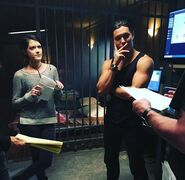 BTS 1x05 Boxed In Hayley Lovitt and Blair Redford