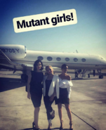 Fox Promotion Executive Conference 2017 Natalie Alyn Lind, Jamie Chung, and Emma Dumont 'Mutant Girls'