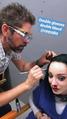 BTS 1x02 rX Emma Dumont make up bloody nose