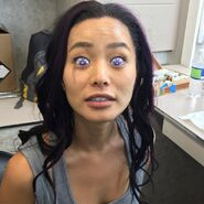 BTS 1x02 rX Jamie Chung eye contacts