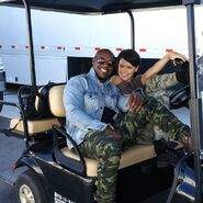 BTS 1x08 threat of eXtinction Jermaine Rivers and Hayley Lovitt