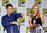 SDCC Comic Con Panel 2017 - Stephen Moyer and Amy Acker