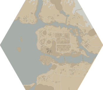 A map of Farranac Coast.