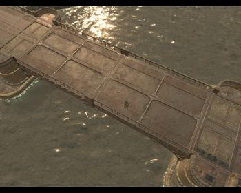 A screenshot of a Long Bridge.