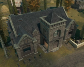 An in-game screenshot of a Town Base.