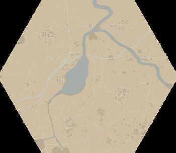 A map of Umbral Wildwood.