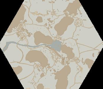 A map of Callahan's Passage.