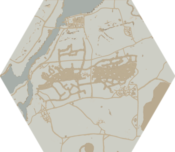 A map of The Moors.