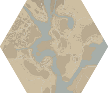 A map of Shackled Chasm.