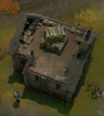 A screenshot of an Emplacement House.