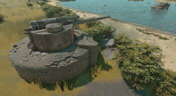 A screenshot of a Coastal Gun.