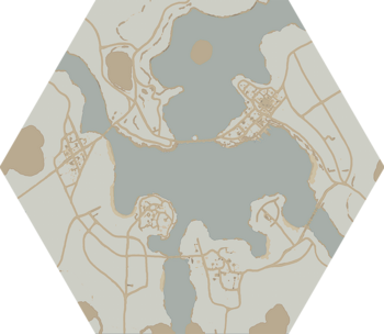 A map of Howl County.