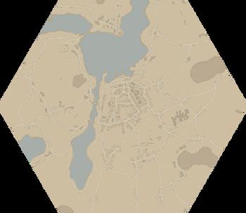 A map of Loch Mor.