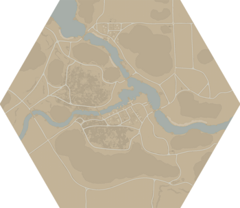 A map of the Ash Fields.