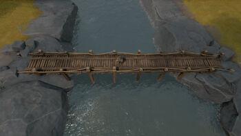 A screenshot of a Wooden Bridge.