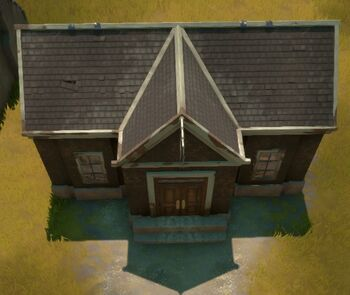 An in-game screenshot of a Garrison Base.