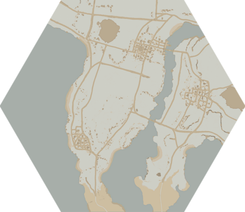 A map of the Nevish Line.