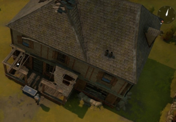 The exterior of a Safe House.