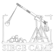 Siege Camp's logo.