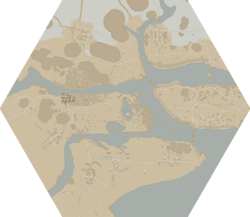 A map of Endless Shore.