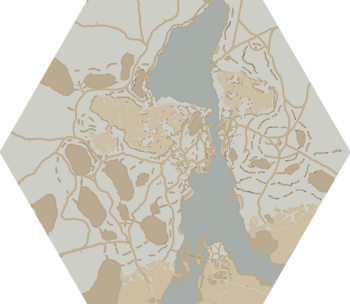 A map of Marban Hollow.