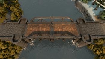 A screenshot of a Reinforced Drawbridge.