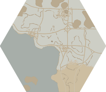 A map of Morgen's Crossing.