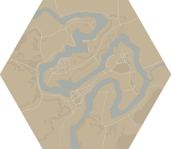 A map of Red River.
