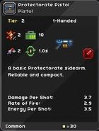 Protectorate Pistol
